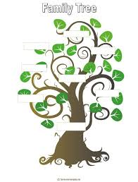 family tree designs for