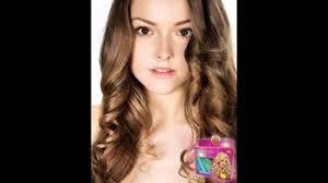 Catokan Rambut Sosis model rambut keriting gantung
