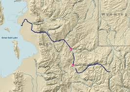 Green River Utah Map by Uinta Mountains Wikipedia
