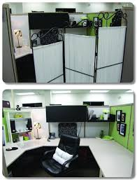 use a room divider to create some semblance of privacy cubicle