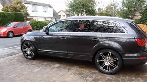 Audi Q7 Modified - audi q7 lowered tuned audi q7 youtube