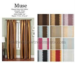Pastel Coloured Curtains Muse Curtain Drapery Panels