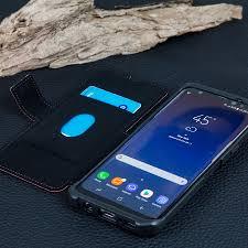 Samsung Galaxy Rugged Metropolis Rugged Samsung Galaxy S8 Plus Wallet Case Magma Red