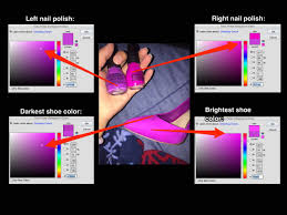 people are losing it over a nail polish and shoe photo business