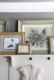 how high to hang art the yellow cape cod diy how to add a ledge to your board and