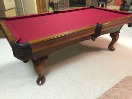 olhausen pool table legs a7 brunswick brookstone pool table for sale sold used pool tables