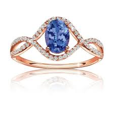 tanzanite wedding rings tanzanite ring in 14k gold