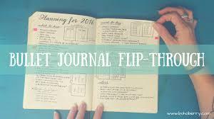 Bullet Journaling by Bullet Journal Flip Through Youtube