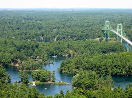 Thousand Islands by The Drake Cottage At Thousand Island Park New York Thousand