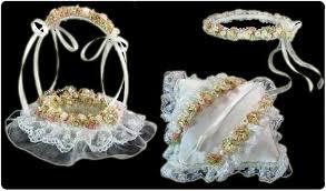 arras para boda cestas y arras para novias