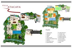 floorplan villa atacaya u2013 tanah lot 5 bedroom private pool villa