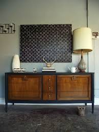 vintage ground mid century vintage nine drawer buffet dresser