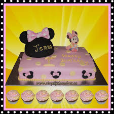baby minnie mouse 1st birthday disney baby minnie mouse 1st birthday cake with minnie mouse ears