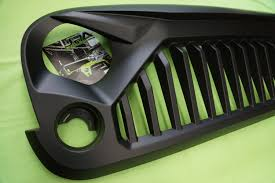 jeep bumper grill jeep wrangler stormtrooper angry grill grille for jk wrangler 07