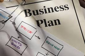 business plan format products or services section