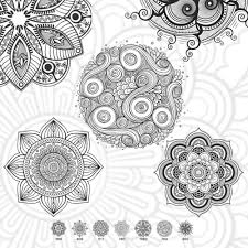 ornaments photoshop brushes
