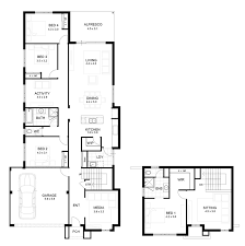 exceptional 2 story home plans 4 two house floor loversiq