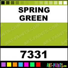what is spring spring green color calligraphy paintmarker marking pen paints