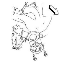 solved diagram of thermostat location on 2004 chevrolet fixya