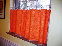 Orange Kitchen Curtains Sale Orange Kitchen Curtains And Design White Trends Picture Curtain
