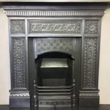 Victorian Cast Iron Bedroom Fireplace Original Edwardian Bedroom Fireplace Bc074 Olde Worlde Fireplaces