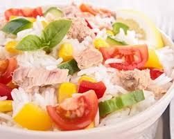 cuisine salade recette salade de riz au thon d isabelle