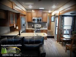 5th Wheel Living Room Up Front by 5th Wheel Rving Is Easy At Lerch Rv