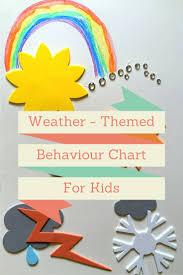rambling through parenthood weather themed behaviour chart for kids