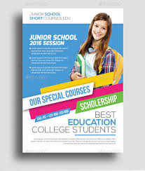 design flyer 23 education flyer templates psd vector eps jpg