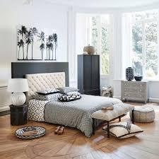 linge lit lin tête de lit capitonnée en lin l 160 cm chesterfield maisons du monde