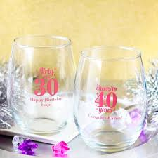wine glass party favor birthday wine party favors beau coup