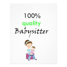 babysitter flyers u0026 programs zazzle