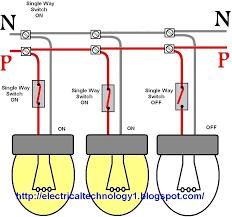 wiring diagrams lighting circuit single light switch 2 simple