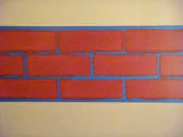 tips for painting faux brick