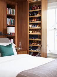 Wall Hung Shoe Cabinet Impressive Shoe Storage Built In Wall Mounted Shoe Rack Houzz