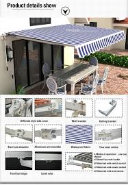 Caravan Retractable Awnings Exterior Door Caravan Waterproof Retractable Awning For Front Door