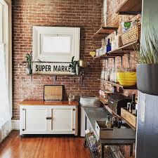how to hang kitchen cabinets on brick wall 18 kitchens with exposed brick walls kitchn