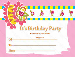 birthday card invitation template invitation birthday card wblqual