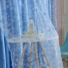 Shimmer Sheer Curtains Amazon Com Edal Circle Pattern Room Voile Window Curtains Sheer