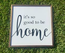 family wood sign home decor it u0027s so good to be home wooden sign by jpsfamilycreations on etsy