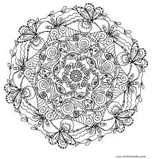 Flower Mandala Coloring Pages Cute Coloring Mandala Flowers Coloring Pages