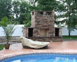 outdoor fireplace design and installation services in nj