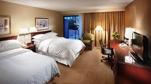 Twin Bed Vs Double Bed Hotel Pasadena Accommodation Sheraton Pasadena Hotel