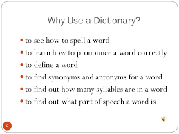 dictionary skills 3rd grade ppt video online download