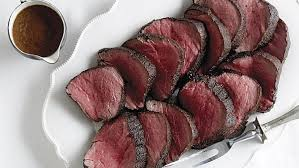 salt and pepper roast beef with béarnaise sauce finecooking