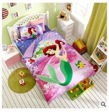 Little Girls Queen Size Bedding Sets by Princess The Little Mermaid Bedding Sets For Girls 100 Cotton