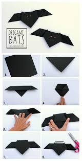 origami bats paper bat origami and bats