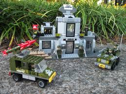 lego army jeep instructions bricks from another dimension ausini army headquarters review 22703