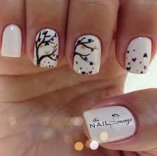 fall gel nail art the nail lounge miramar nail art