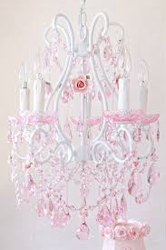 Light Fixtures For Girls Bedroom 38 Best Pink Chandeliers Images On Pinterest Pink Chandelier